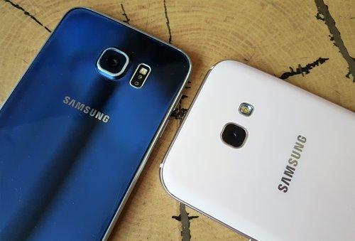 Samsung Galaxy S6 & Samsung Galaxy A5 (2017) / fot. gsmManiaK.pl