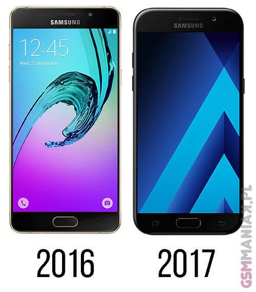 Samsung Galaxy A5 2016 vs Galaxy A5 2017 / fot. gsmManiaK