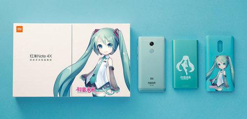 Xiaomi Redmi Note 4X Hatsune Miku Special Edition_2