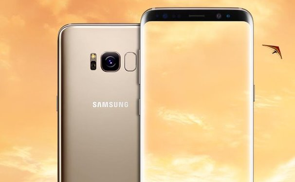 Złoty Galaxy S8 / fot. Evan Blass