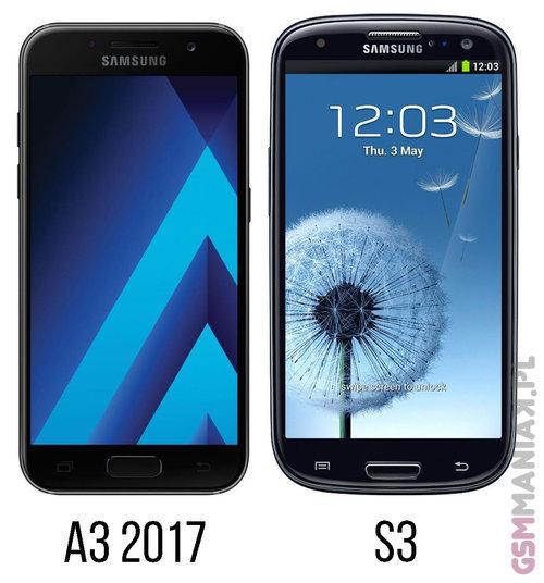 Samsung Galaxy A3 2017 vs Galaxy S3