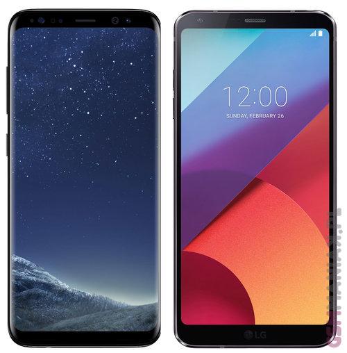 Samsung Galaxy S8 vs LG G6 / fot. gsmManiaK