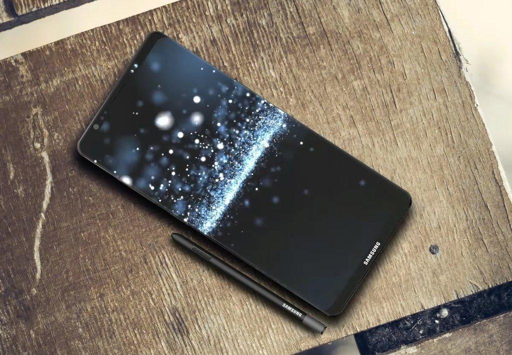 Koncept Galaxy Note 8 / fot. DBS Designing