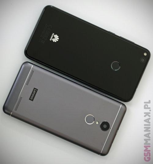 Huawei P9 Lite 2017 i Lenovo K6 / fot. gsmManiaK.pl