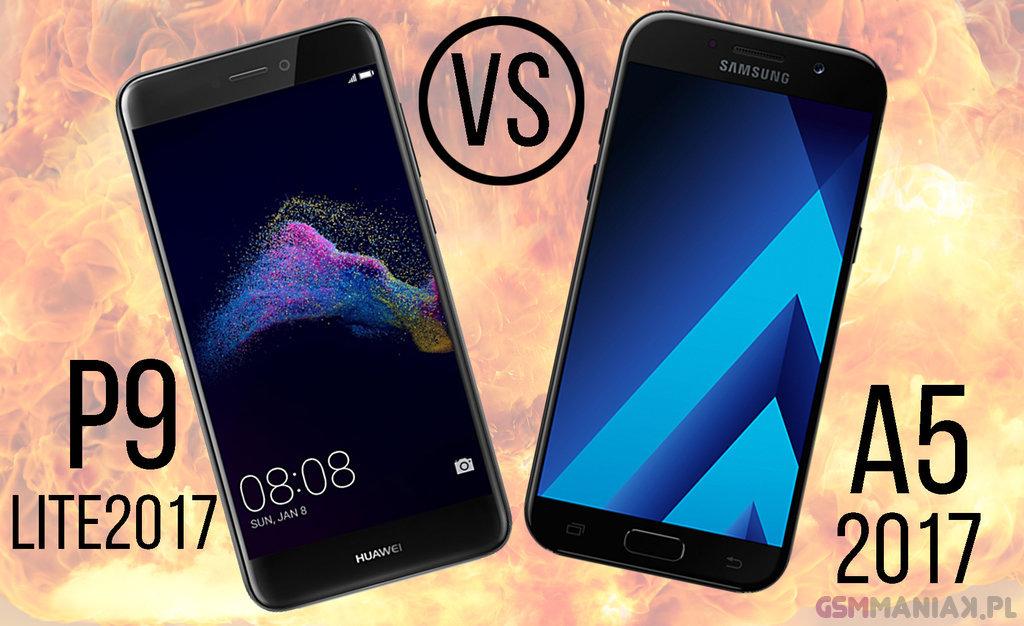 Huawei P9 Lite 2017 vs Samsung Galaxy A5 2017 12