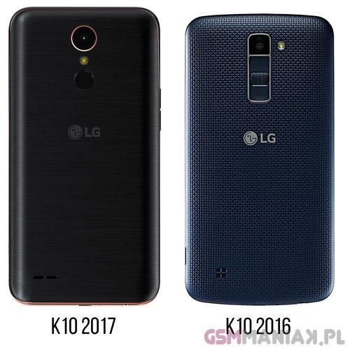 LG K10 2017 vs LG K10 / fot. gsmManiaK