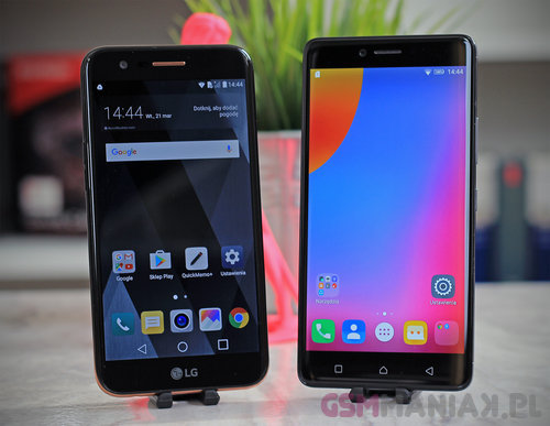 LG K10 2017 vs Lenovo K6 Note / fot. gsmManiaK