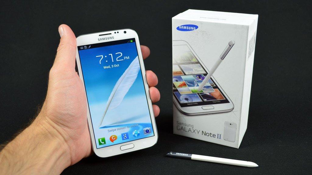 Samsung Galaxy Note 2 / fot. YouTube
