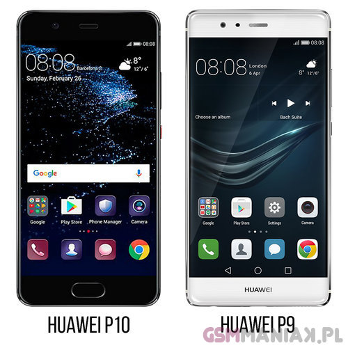 Huawei P10 vs P9 a