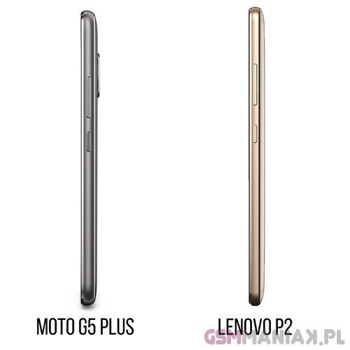 Lenovo P2 vs Moto G5 Plus 3