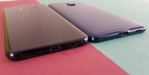 Samsung Galaxy S8+ i HTC U Ultra / fot. gsmManiaK.pl