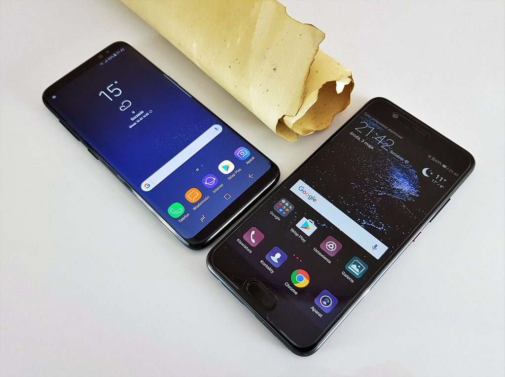 Samsung Galaxy S8 i Huawei P10 / fot. gsmManiaK.pl