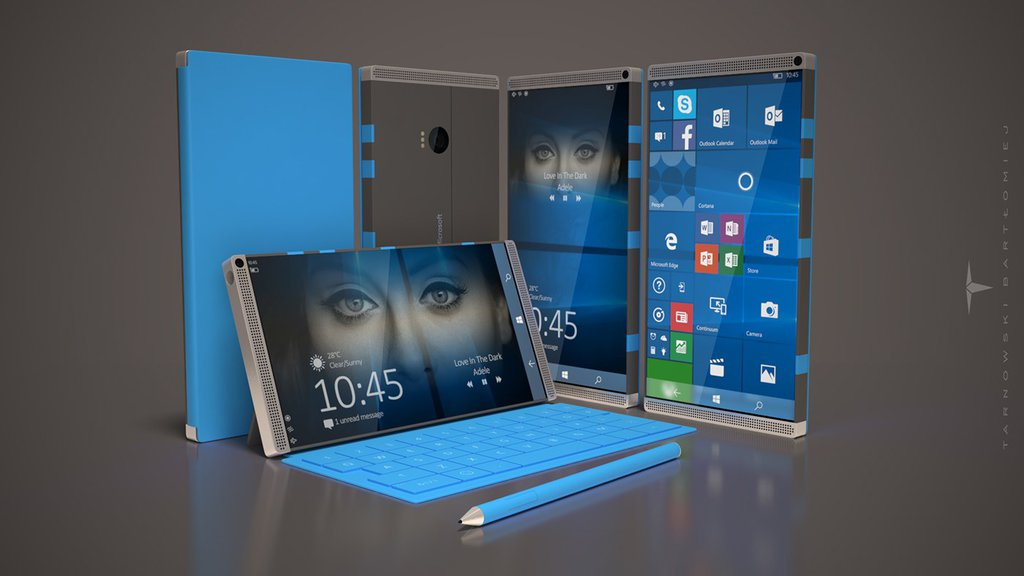 Tak mógłby wyglądać Surface Phone / fot. NPU