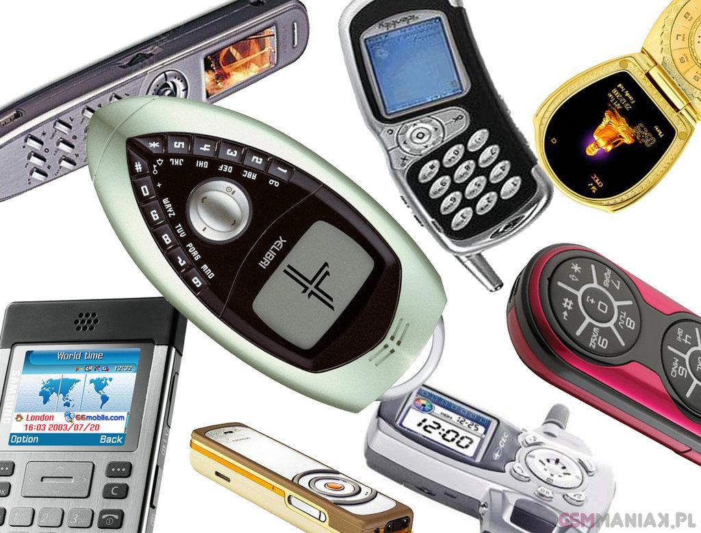 TOP 30 dziwne telefony