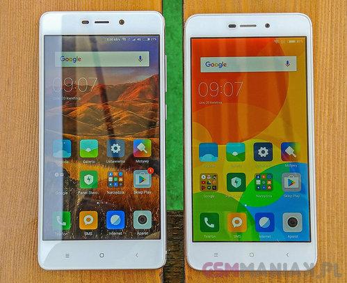 Xiaomi Redmi 4 Pro vs Xiaomi Redmi 4A / for. gsmManiaK.pl