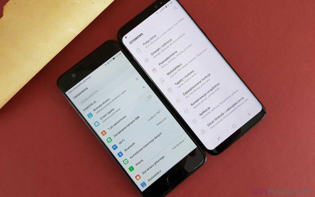 Samsung Galaxy S8 i Huawei P10 / fot. gsmManiaK
