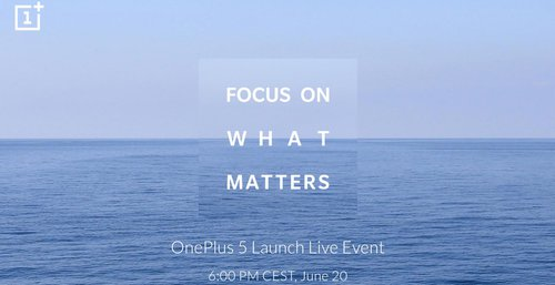 Zaproszenie na premierę OnePlus 5 / Fot. OnePlus
