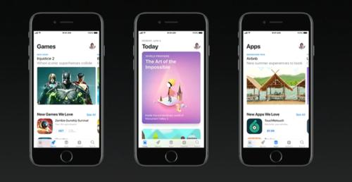 Nowe AppStore w iOS 11 / fot. Apple