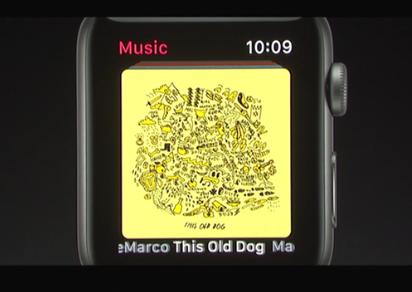 watchOS 4 / fot. Apple
