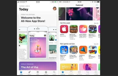 iOS 11 vs. iOS 10 / fot. PhoneArena