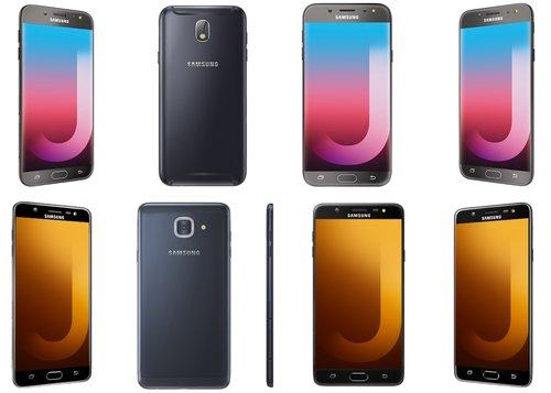 Samsung Galaxy J7 Pro (góra) i Samsung Galaxy J7 Max (dół) / fot. Samsung