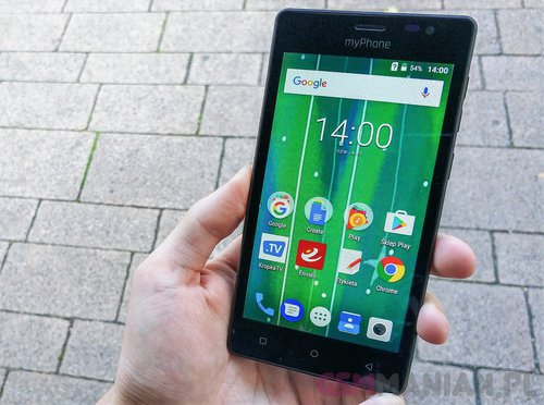 myPhone Q-Smart Black Edition / fot. gsmManiaK