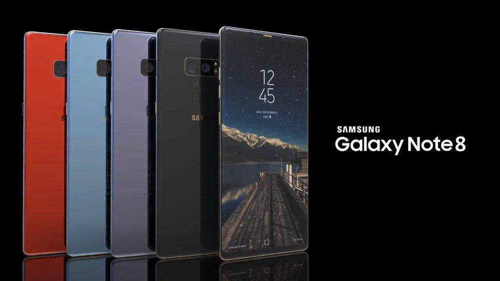 fot. zrzut z konceptu Galaxy Note - Concept Creators
