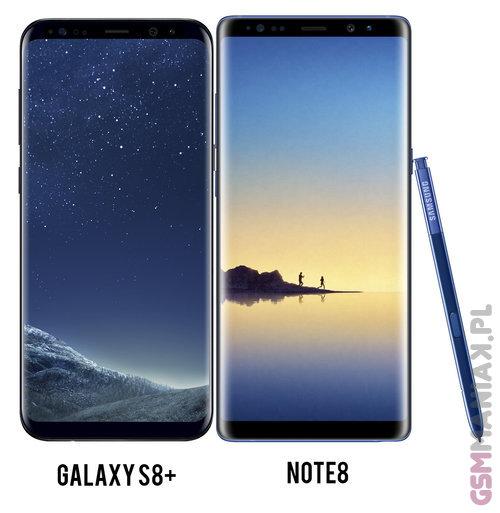 Samsung Note8 vs S8plus 1