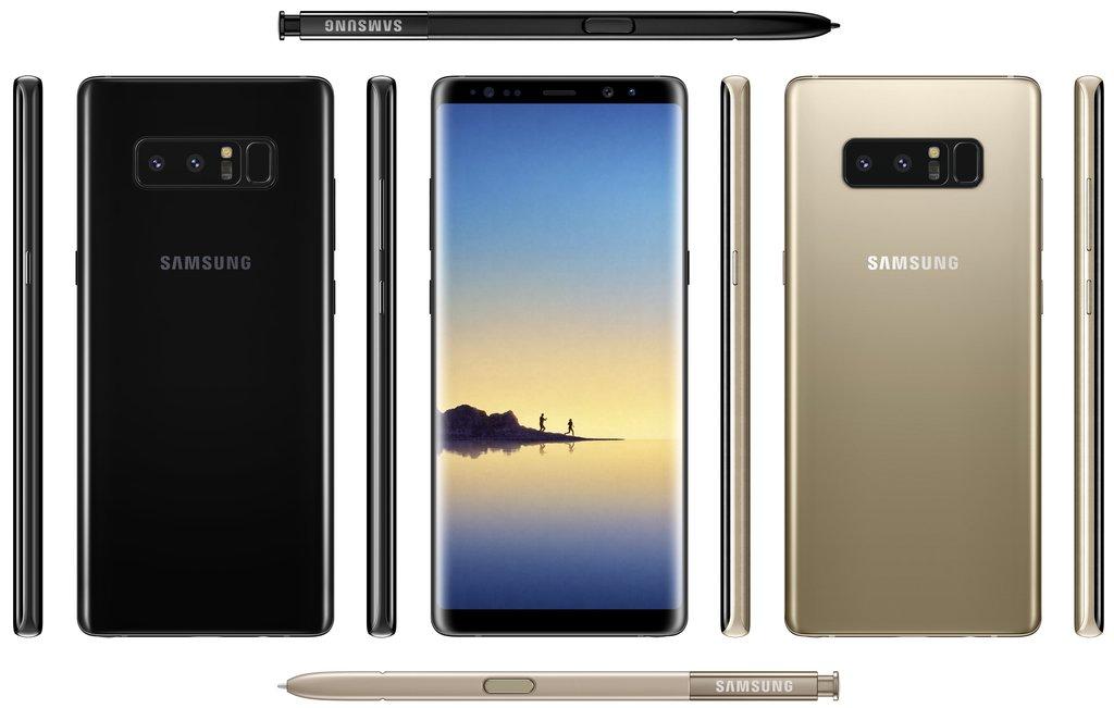 Samsung Galaxy Note 8 / fot. Evan Blass