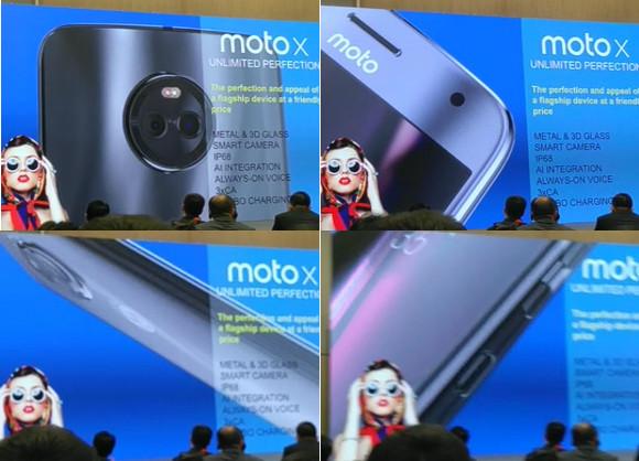 Motorola Moto X4/ fot. evleaks