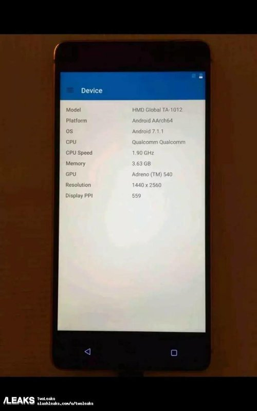 Nokia 8/fot. Slash Leaks