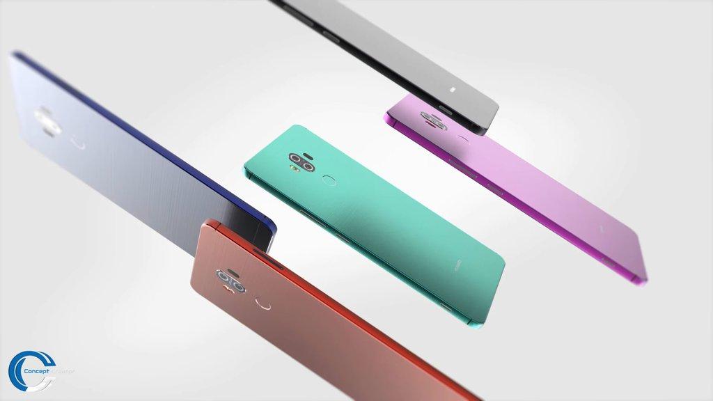Pomysł na wygląd Huawei Mate 10 / fot. Concept Creator