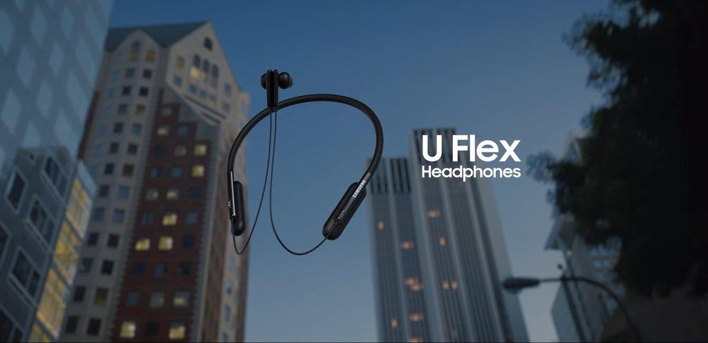 zrzut ekranu z filmu Samsung U Flex