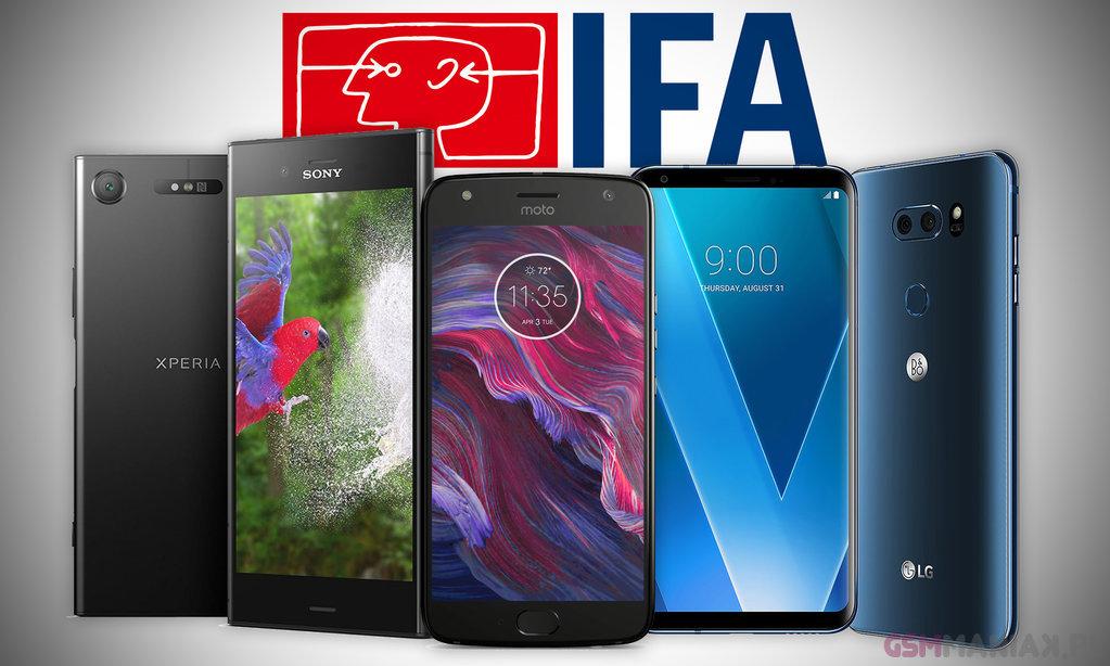IFA 2017 smartfony