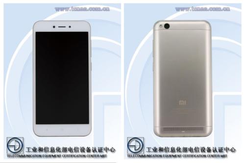 Xiaomi Redmi 5A/ fot. TENAA