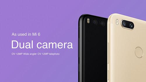Podwójny aparat w Xiaomi Mi 5X/ fot. Xiaomi