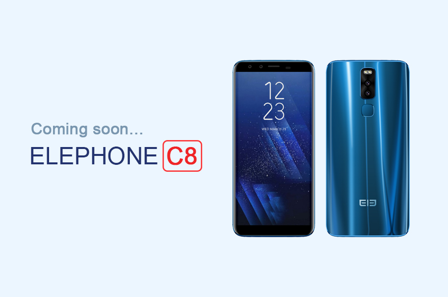 Elephone C8/ fot. Elephone