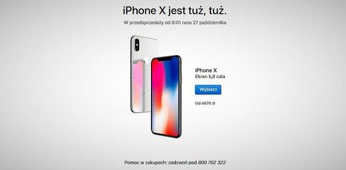 iphone-x-przedsprzedaż