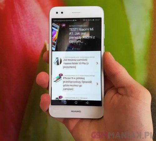 Tylko na zewnątrz Test Huawei P9 lite mini. Recenzja taniego telefonu z ekranem 5 ZB86