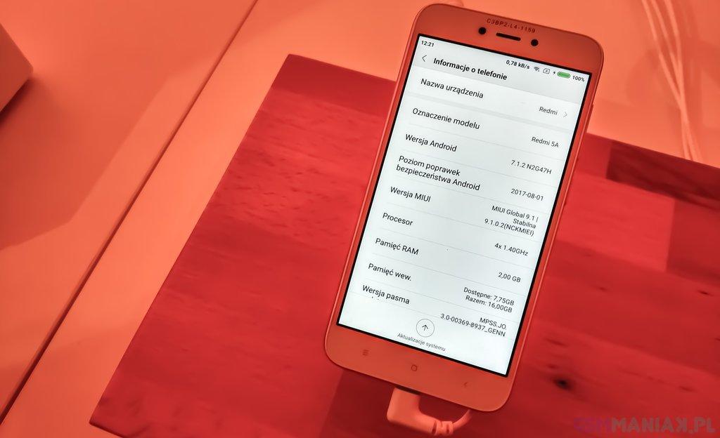 Xiaomi Redmi 5A / fot. gsmManiaK