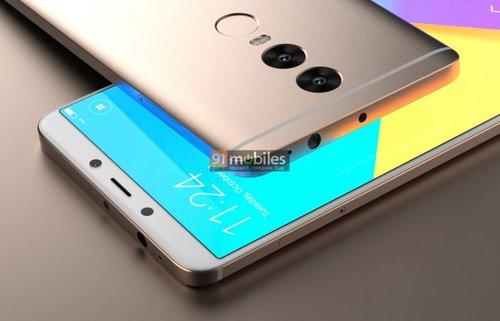 Xiaomi Redmi Note 5 na wizualizacji / Fot. 91Mobiles