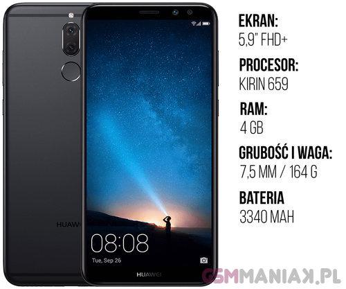 Specyfikacja Huawei Mate 10 Lite