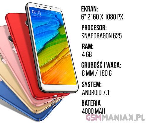 Specyfikacja Xiaomi Redmi 5 Plus