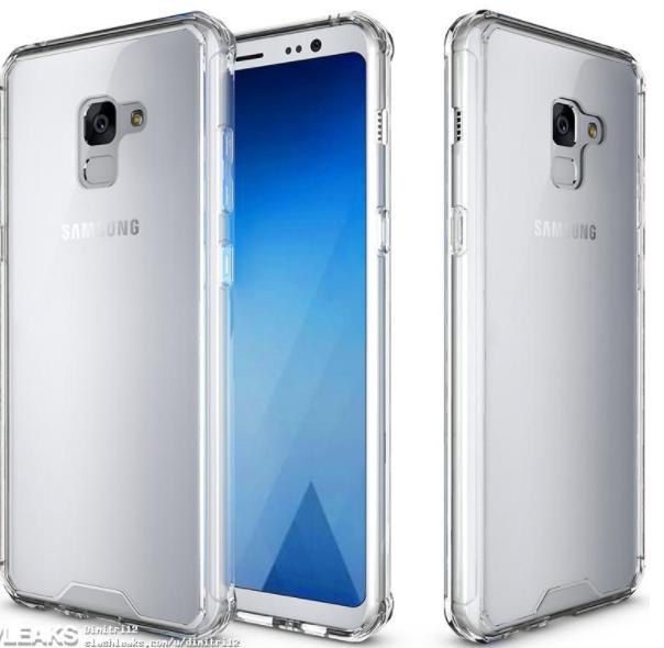 Samsung Galaxy A7 (2018)/ fot. Slashleaks