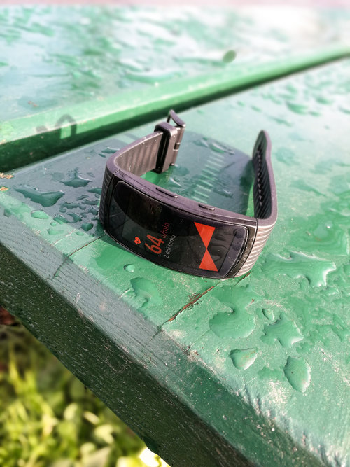 Samsung Gear Fit2 Pro/ fot. gsmManiaK.pl