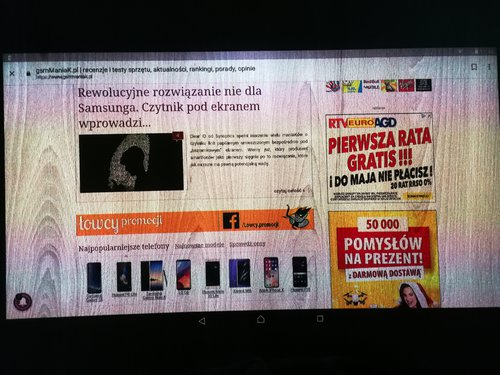 Sony Xperia Touch/ fot. gsmManiaK.pl