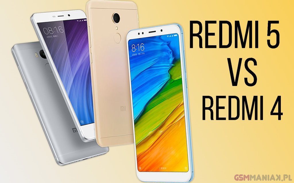Redmi 5 vs redmi 4 b