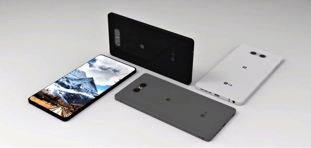 Koncept LG G7 / Fot. DBS DESIGNING