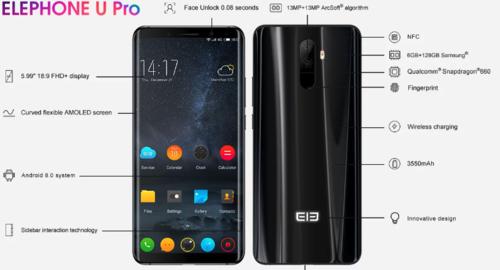 Elephone U Pro/ fot. Elephone