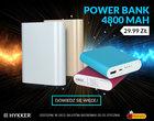 Hykker Power Bank 4800 mAh w Biedronce za 29,99 zł
